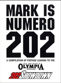 Mark Dugdale: Mark is Numero 202