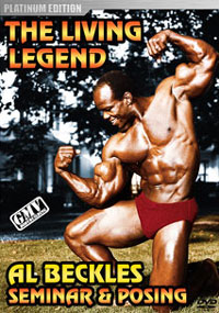 Al Beckles - The Living Legend: Seminar & Posing