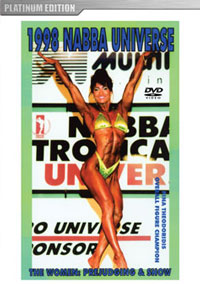 1998 NABBA Universe (50th Year) The Women - Prejudging And Show