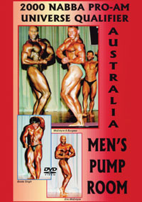 2000 NABBA Pro-Am Universe Qualifier: Men's Pump Room