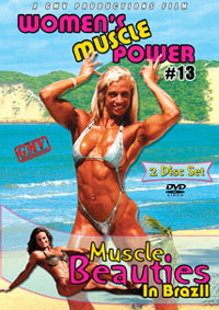 Women's Muscle Power #13 - Muscle Beauties in Brazil 2 disc set