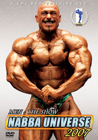 2007 NABBA Universe - Men The Show