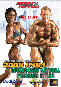 2008 INBA QUEENSLAND NATURAL PHYSIQUE TITLES 2 DISC SET