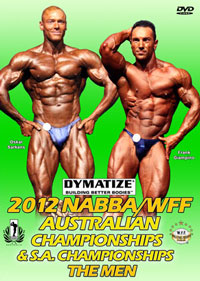 2012 NABBA/WFF Australian Championships: The Men
