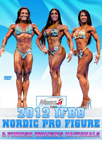 2012 IFBB Nordic Pro Figure & Finnish Women's Nationals