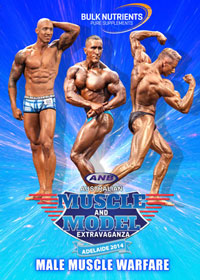 2014 ANB Australian Muscle and Model Extravaganza - Male Muscle Warfare