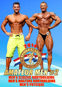 2014 Arnold Classic Amateur Men #2 - Classic & Masters Bodybuilding & Men's Physique