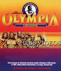 1991 Mr. Olympia (Historic DVD)