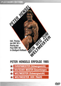 Peter Hensel: Mr Universe Gym Workout & Posing