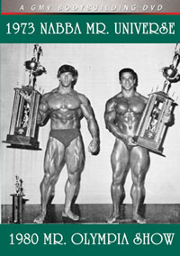 1973 NABBA Mr. Universe and the 1980 Mr. Olympia Show