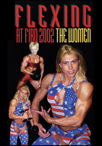 Flexing at FIBO 2002 - The Women