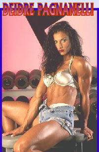 Deidre Pagnanelli - Workout, Pumping & Posing