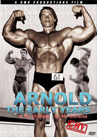 Arnold Schwarzenegger - The Early Years DVD