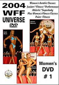 2004 WFF Universe: The Women DVD # 1