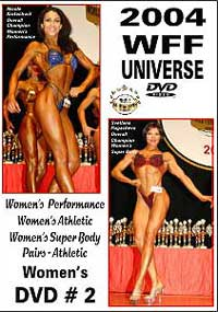 2004 WFF Universe: The Women DVD # 2