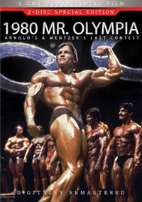 1980 Mr. Olympia - 2 DVD set